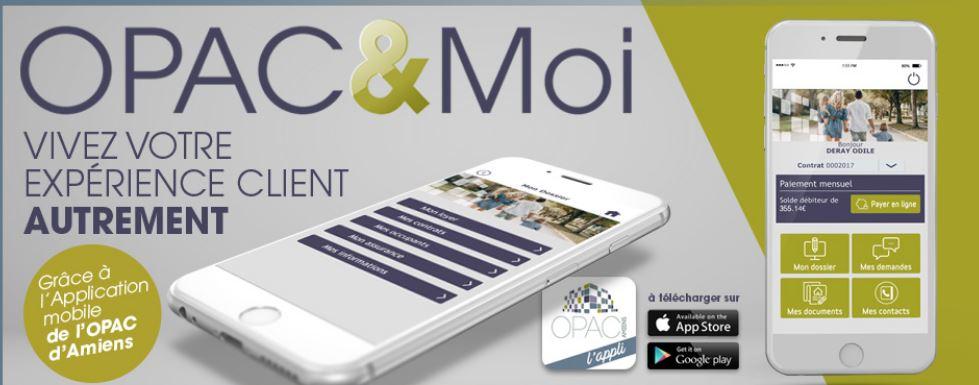 Opac&moi, la nouvelle appli mobile de l'Opac d'Amiens